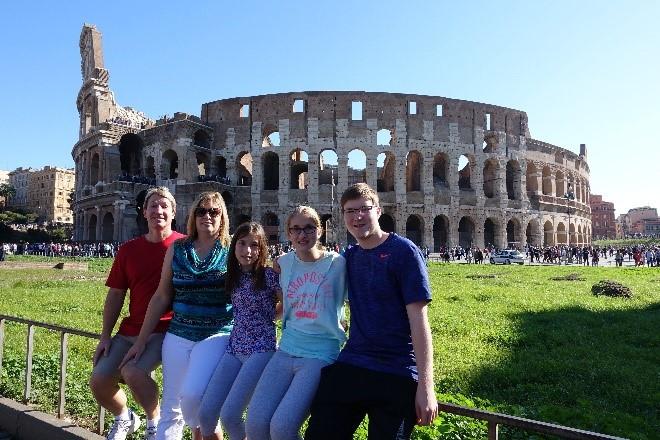 Roman Wrestling Arena