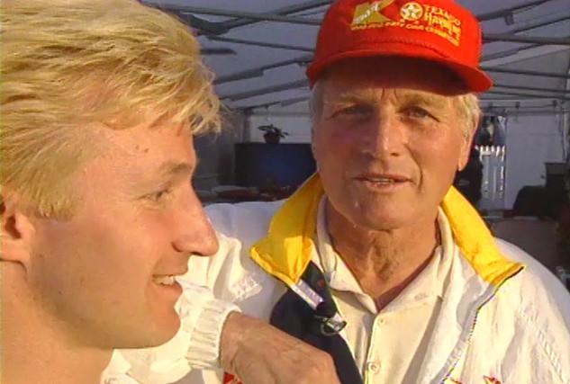 Paul Newman - Oscar Winning Actor, Director, Producer, Race Car Driver, IndyCar owner, Entrepreneur, and Navy Veteran