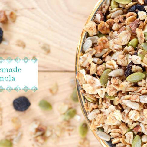 recipes :: homemade granola