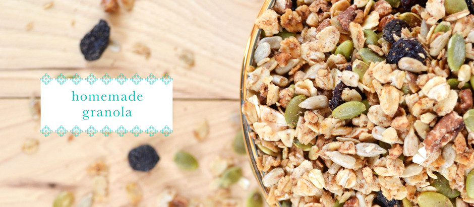 recipes :: homemade granola