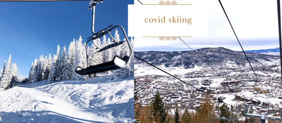 go outside :: skiing steamboat during covid