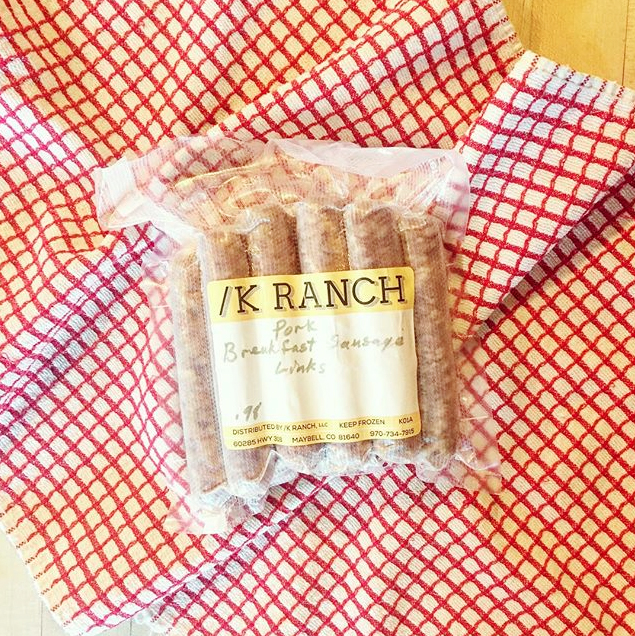 K Ranch Pork Sausage