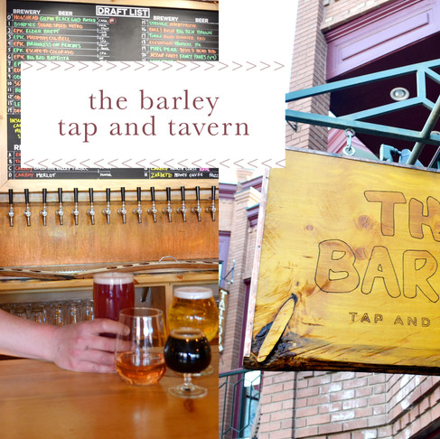 drink like a local :: the barley tap and tavern