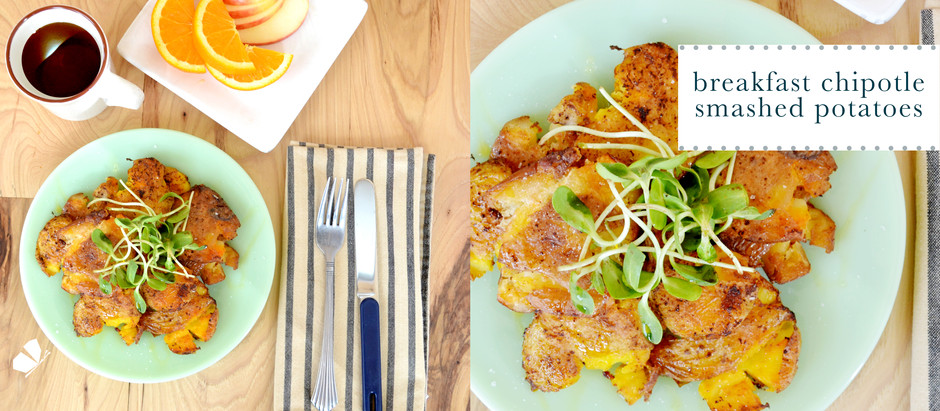 recipes :: breakfast smashed potatoes