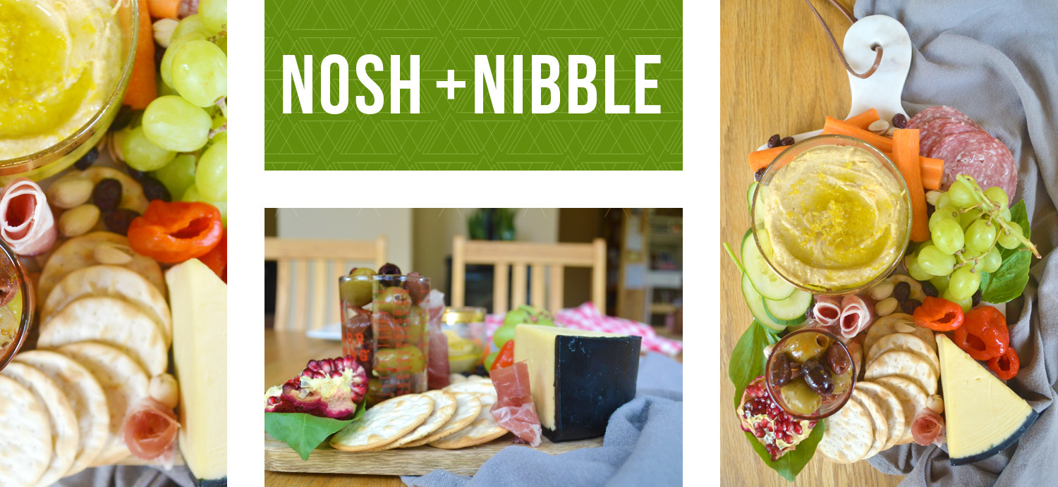 Nosh + Nibble Snacking Platter