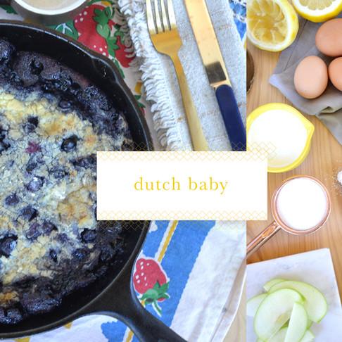 recipes :: dutch baby