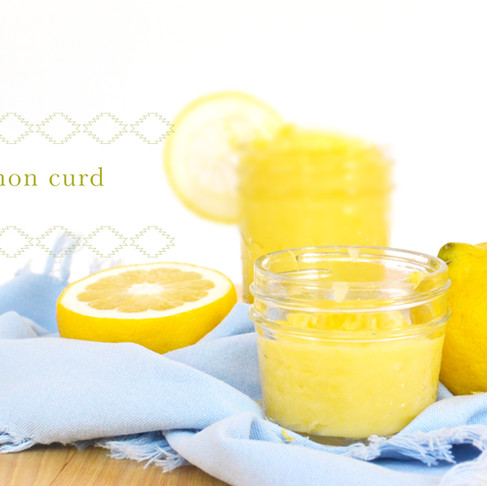 test kitchen :: lemon curd