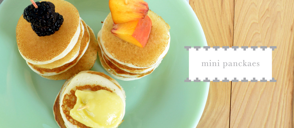 test kitchen :: mini pancake stacks