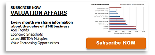 business valuation newsletter