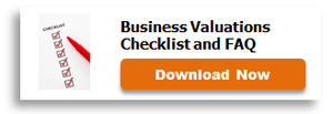 business valuations checklist