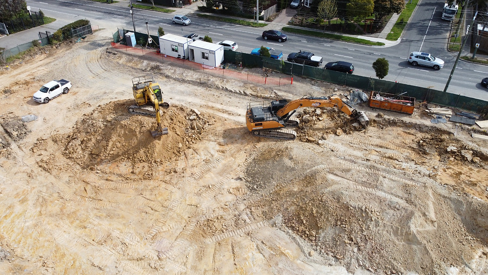 Construction begins at The Base Ringwood.
