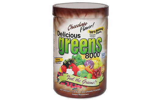 Delicious Greens 8000, Chocolate