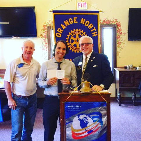 Guest speaking at Orange Rotary