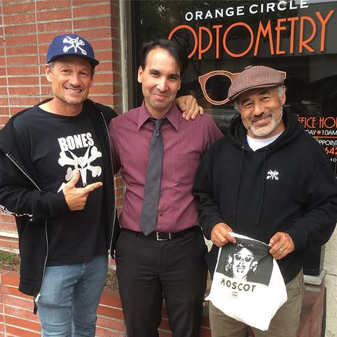 Pro Skaters Mike McGill & Steve Caballero
