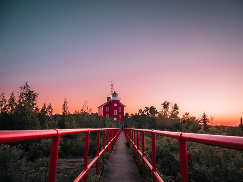 Marquette Michigan Lighthouse