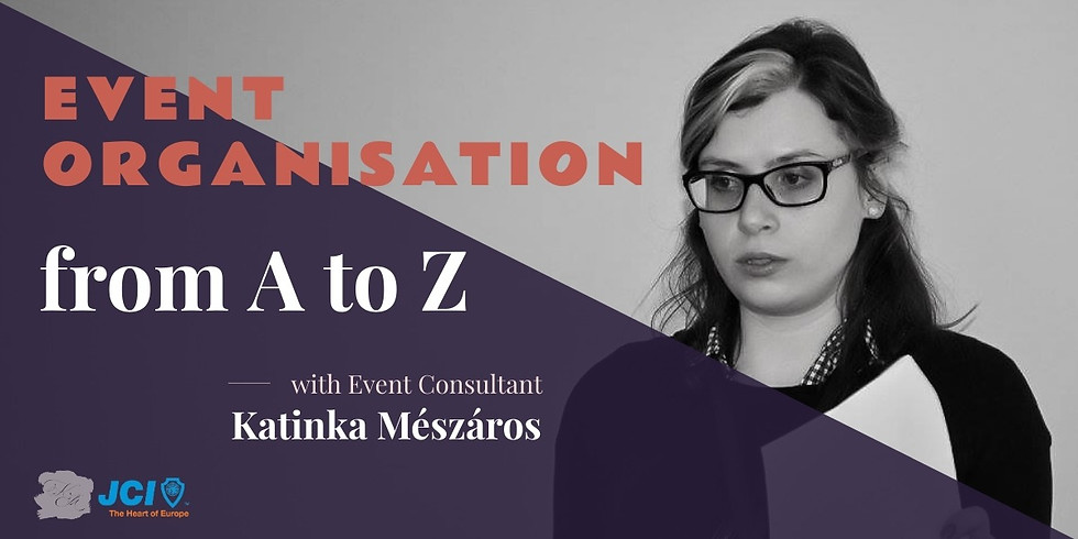 Event organisation from A to Z (2)