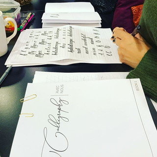Callygraphy avec nous Workshop