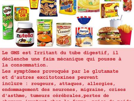 Le glutamate monosodique