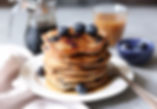 vegan-blueberry-banana-oatmeal-pancakes-