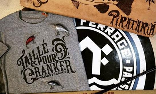 T-Shirt Taillé pour cranker
