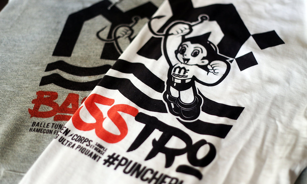 "T-Shirt ""Bass""tro"