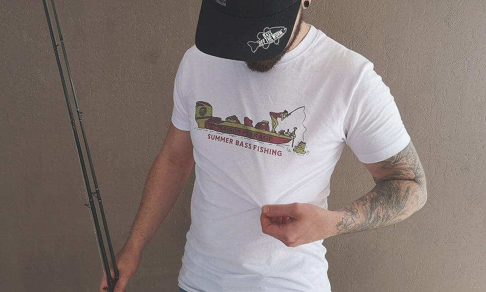 T-Shirt Summer Bass fishing