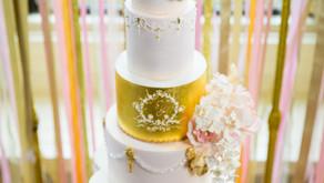 Inspiration: Pale Pink & Gold Elegance