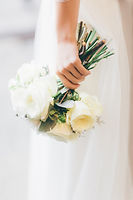 Bridal Bouquet. White Roses. BMA House. Downton Abbey Inspired Shoot.