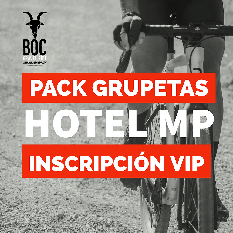 PACK GRUPETAS  BOC + HOTEL