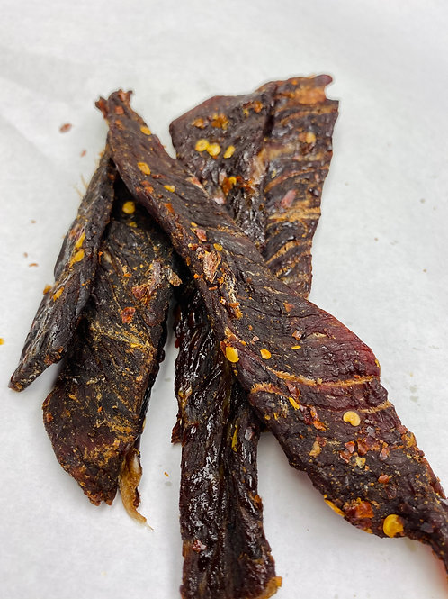 Crushed Red Pepper Beef Jerky