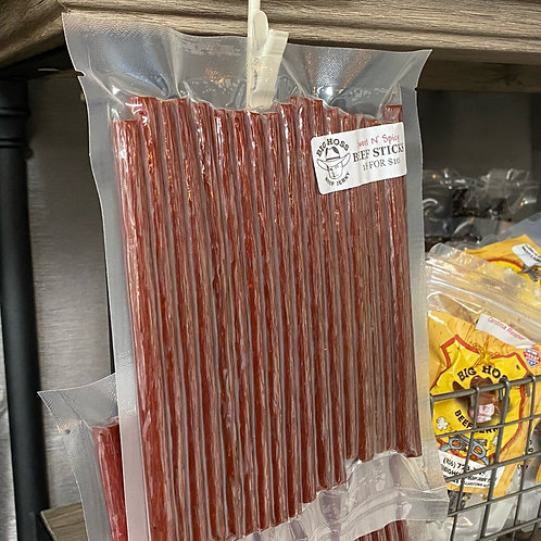Sweet N' Spicy Beef Sticks