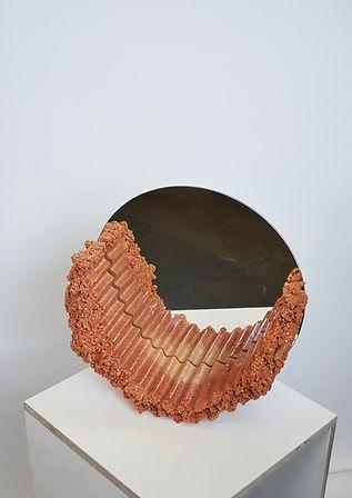 6.Charlotte Kidger_Raw Edge Mirror Coral