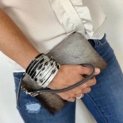 Mini Clutch in Wildebeest #clutchbag #ha