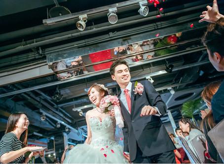婚禮進場方式大公開。你想要哪一種?