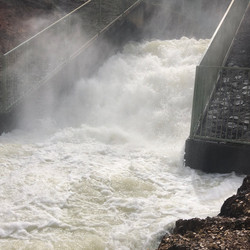 Strong flow at Providence Portal.JPG