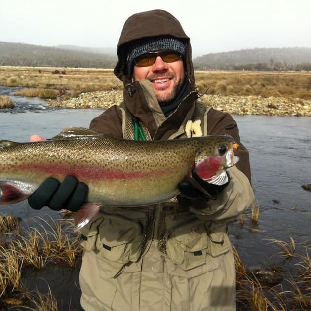 Geoff Bramann - Rainbow Trout at Lake Eu