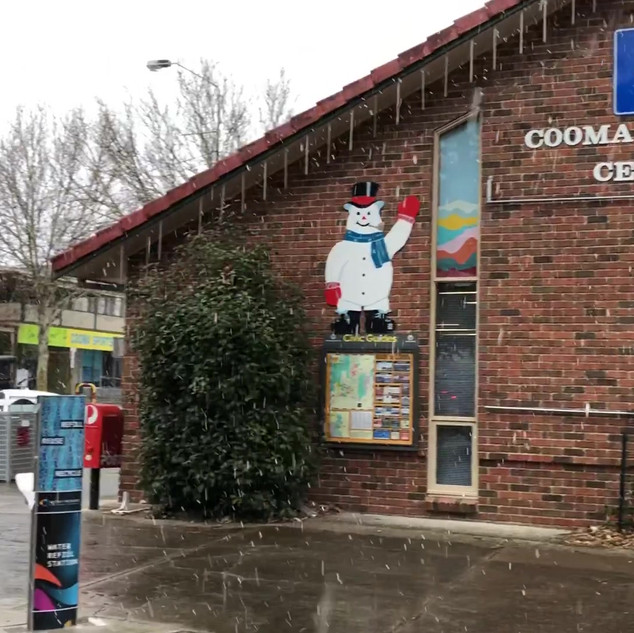 Video - Snowing in Cooma.MOV
