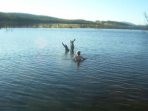 Swimming at Lake Eucumbene.JPG