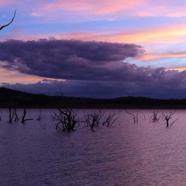 Classic sunset from Grace Lea Island - L