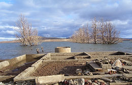 Old Adaminaby (Lake Eucumbene) ruins.JPG