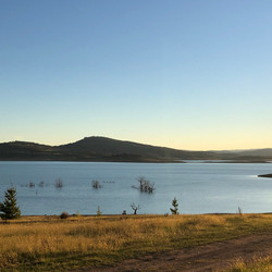 Classic Lake Eucumbene sunset.JPG