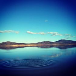 Ripples at Old Adaminaby (Lake Eucumbene
