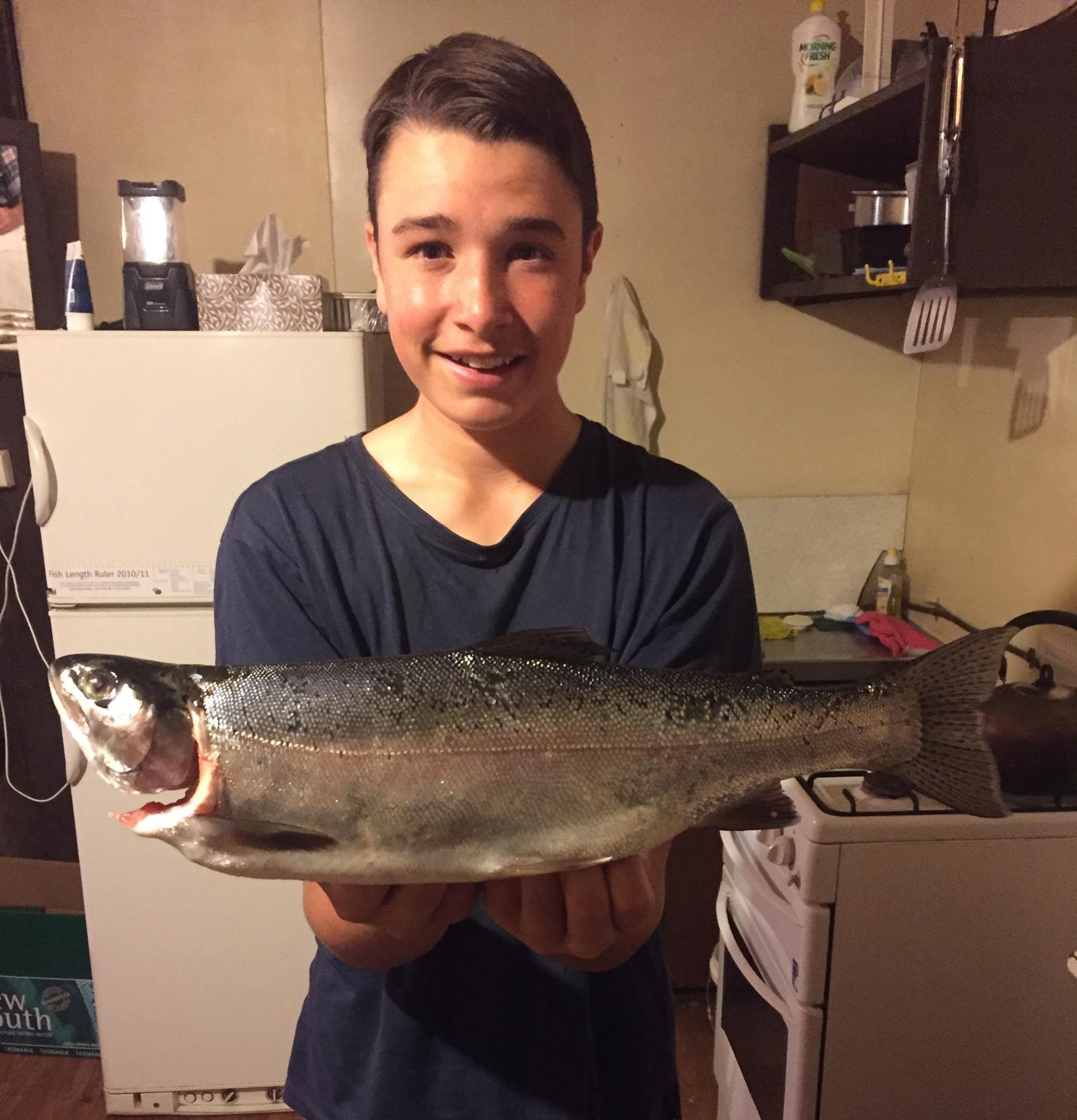 Stuart Bennett - Rainbow trout