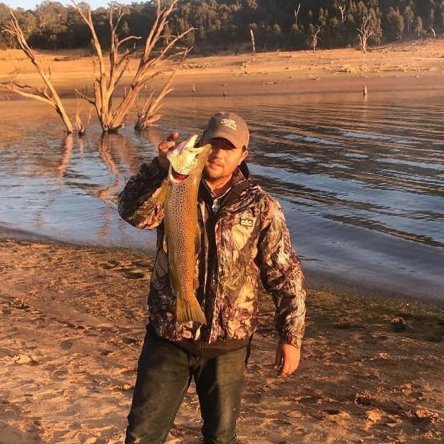 Mat Herekiuha - Brown Trout - Lake Eucum