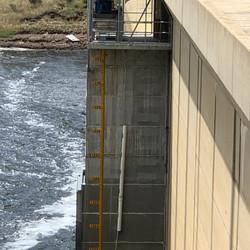 Dam Level marker at Tantangara  Dam - 20