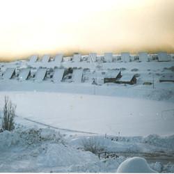 Sunrise at Cabramurra - winter 1986.JPG