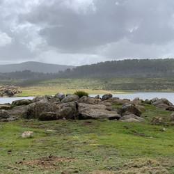 Rocks at Tantangara Dam.JPG