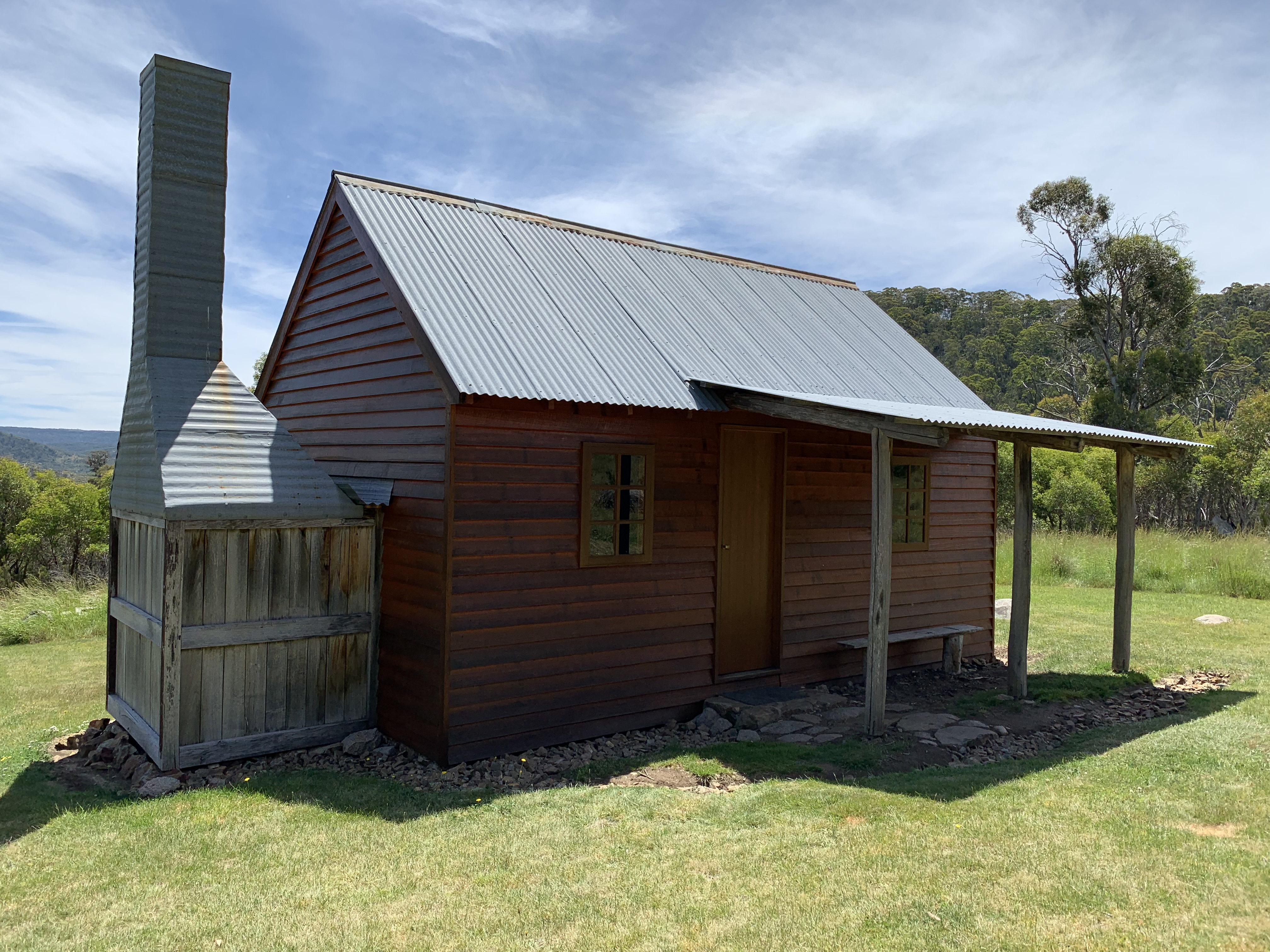 Delaneys Hut - Kosciuszko National Park.