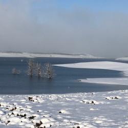 Old Adaminay (Lake Eucumbene) in snow.JP