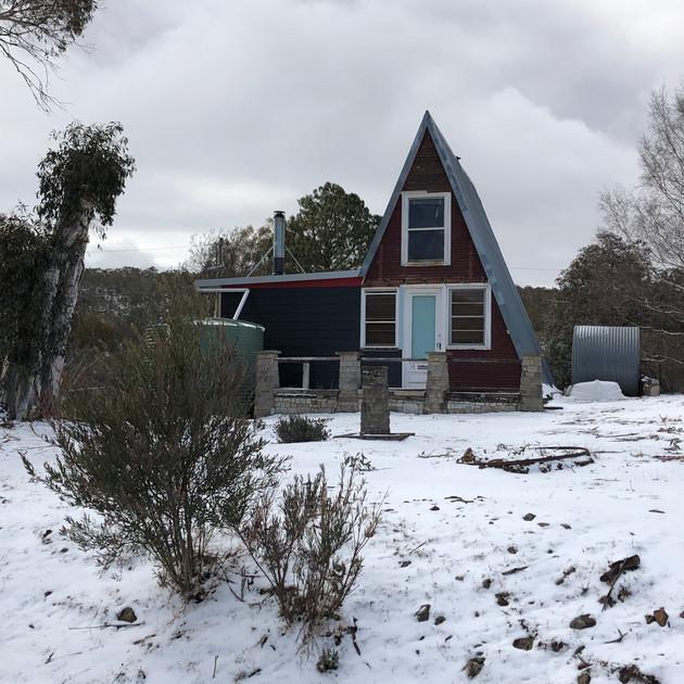 A frame house - Anglers Reach.JPG
